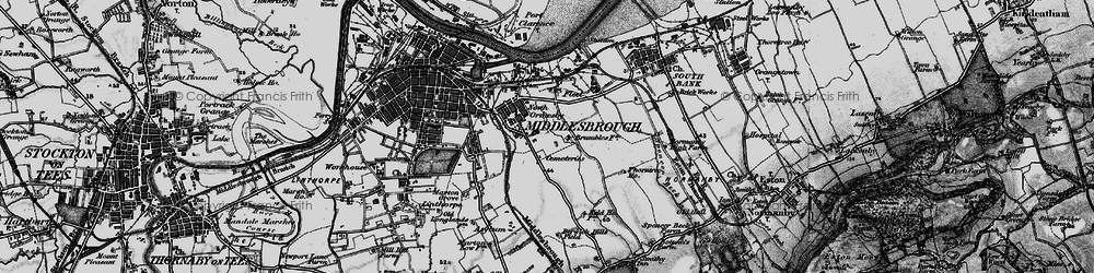 Old map of Pallister in 1898