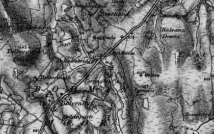 Old map of Palmersbridge in 1895
