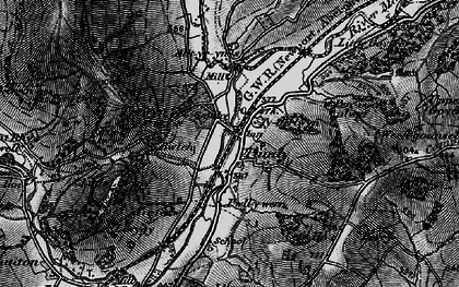 Old map of Alltyrynys in 1896