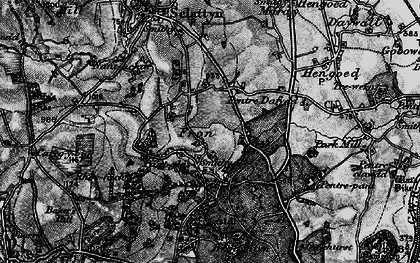 Old map of Lawr-y-pant in 1897