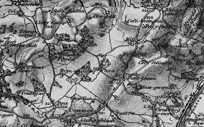 Old map of Abergelli Fm in 1897