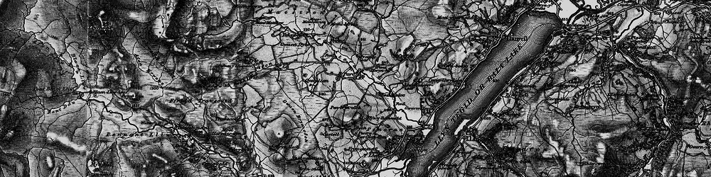 Old map of Y Lordship in 1899
