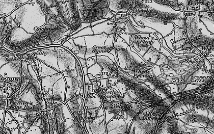 Old map of Parc Erissey in 1895