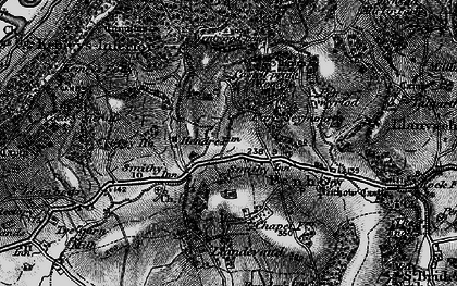 Old map of Parc-Seymour in 1897