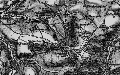 Old map of Park in 1895