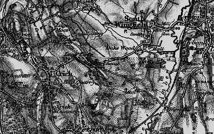 Old map of Park Head in 1896