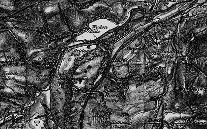 Old map of Wydon Eals in 1897