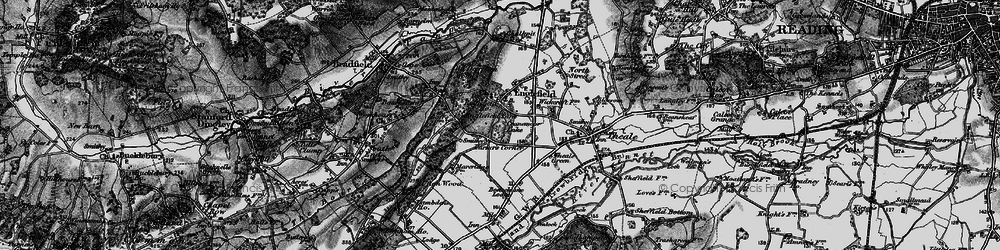 Old map of Wickcroft in 1895