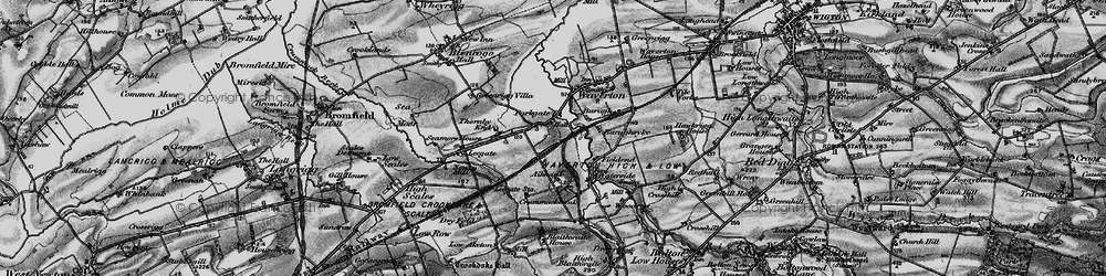 Old map of Aikbank in 1897