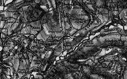 Old map of Lingla Beck in 1897