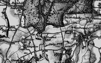 Old map of Wildicote in 1899
