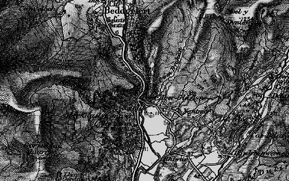Old map of Aberglaslyn Hall in 1899