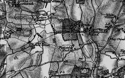 Old map of Patient End in 1896