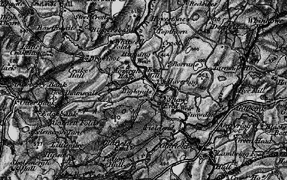 Old map of Agnes Gill in 1897