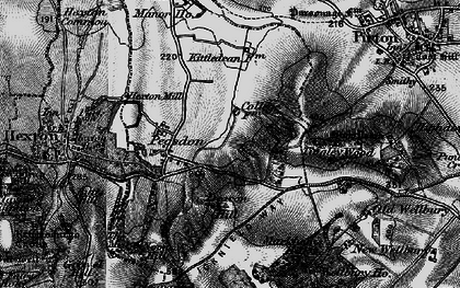 Old map of Tingley Wood in 1896