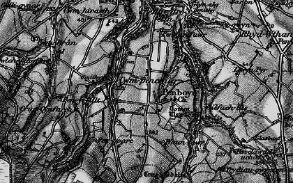 Old map of Tomenlawddog in 1898