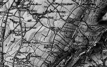 Old map of Wymondhouses in 1898