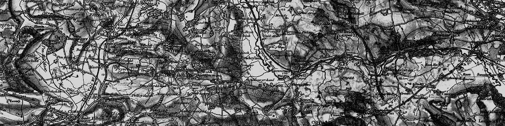 Old map of Allt Isaf in 1897