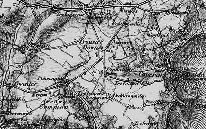 Old map of Penhallick in 1895