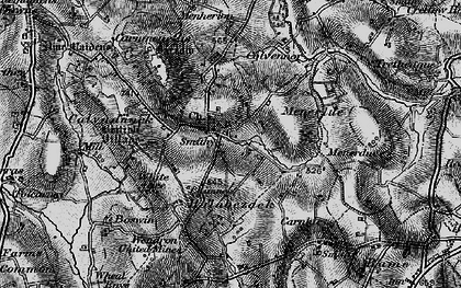 Old map of Penmarth in 1895