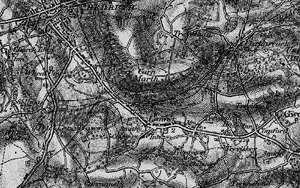 Old map of Pennance in 1895