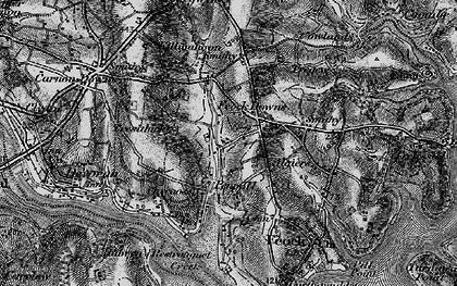 Old map of Penpol in 1895
