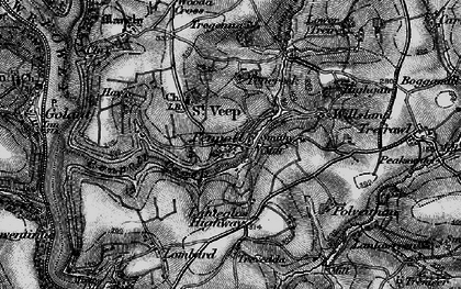 Old map of Penpoll in 1896