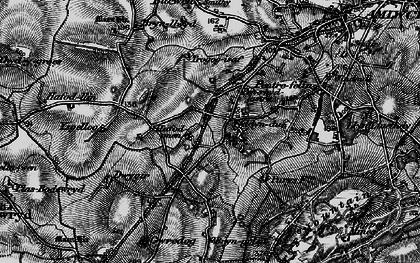 Old map of Ysgellog in 1899