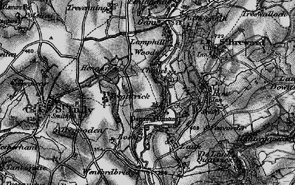 Old map of Penrose in 1895