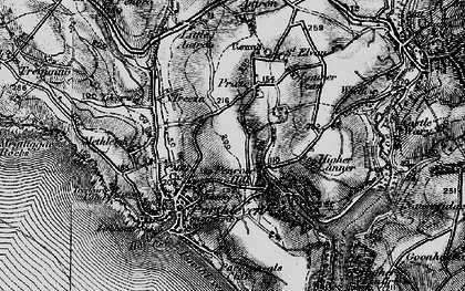 Old map of Penrose Hill in 1895