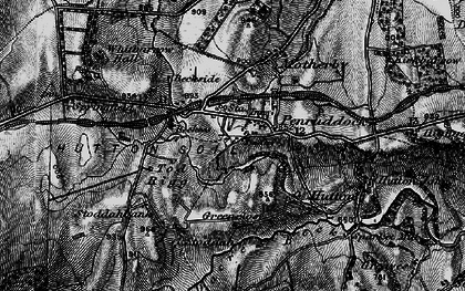 Old map of Penruddock in 1897