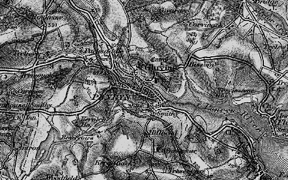 Old map of Penryn in 1895