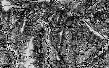 Old map of Ysgir Fawr in 1898