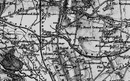 Old map of Penyffordd in 1897
