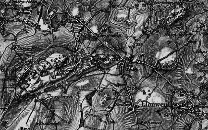 Old map of Penysarn in 1899