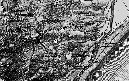 Old map of Pett in 1895