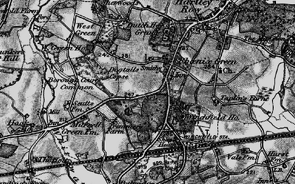 Old map of Phoenix Green in 1895