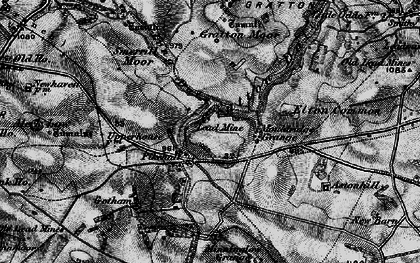 Old map of Astonhill in 1897