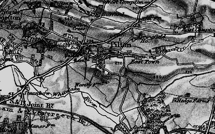 Old map of Pilton in 1898