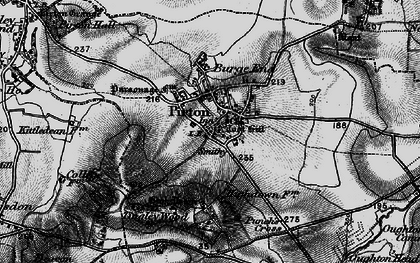 Old map of Toot Hill in 1896