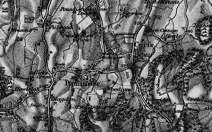 Old map of Pitminster in 1898