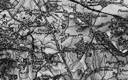 Old map of Ast Wood in 1898
