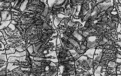 Old map of Plaistow in 1895