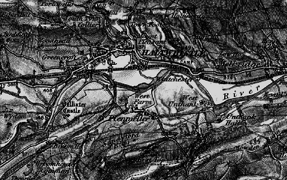 Old map of West Unthank in 1897