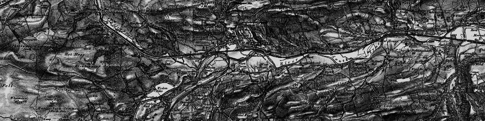 Old map of Todhillwood Fell in 1897