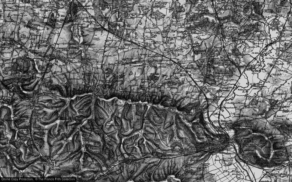 Old Map of Plumpton, 1895 in 1895