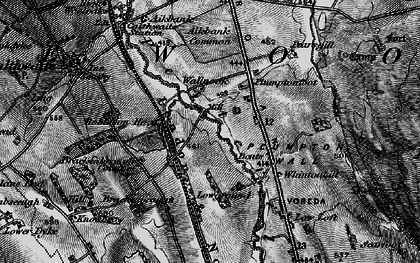 Old map of Aikbank Common in 1897