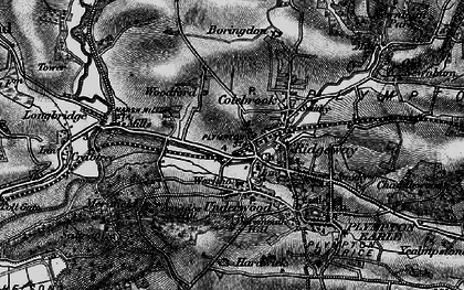Old map of Plympton in 1898