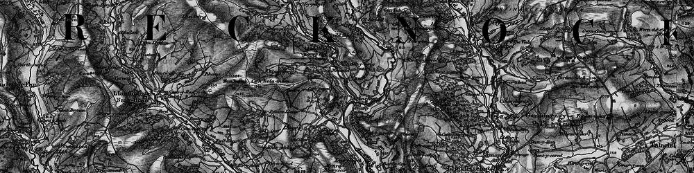 Old map of Alltycerrig in 1898