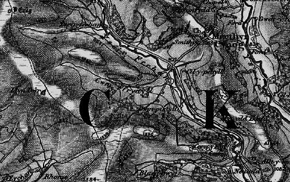 Old map of Yscirfechan in 1898